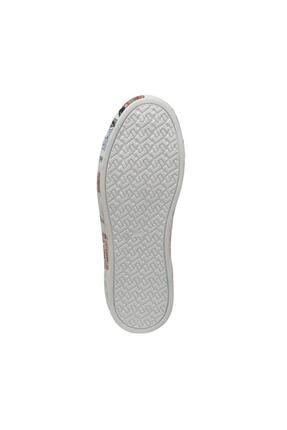 Lumberjack DELBIN 1FX Beyaz Kadın Havuz Taban Sneaker 100933280 3