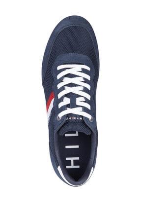 Tommy Hilfiger Erkek Mavi Sneaker FM0FM03417 4