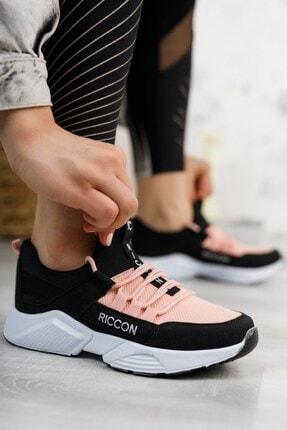 Riccon Unisex Siyah Pudra Sneaker 0012072 0