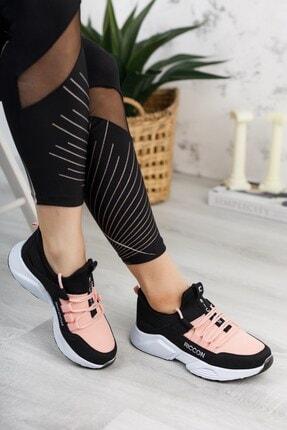 Riccon Unisex Siyah Pudra Sneaker 0012072 4