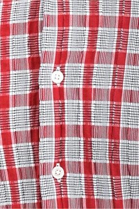 Kiğılı Uzun Kol Ekose Slim Fit Gömlek 4