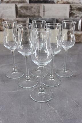 Paşabahçe Beyaz 6'lı Grappa Kahve Yanı Su Bardağı 1