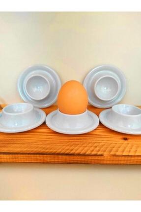 SLV 6' Lı Beyaz Kırılmaz Yumurtalık Takımı 1