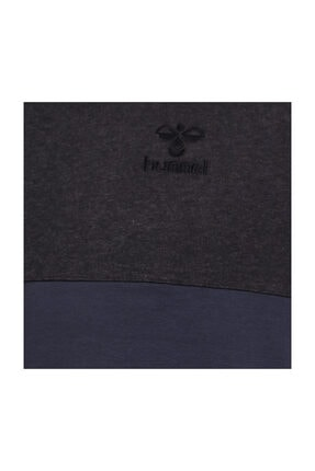 HUMMEL Fred Kapüşonlu Gri Erkek Sweatshirt 3