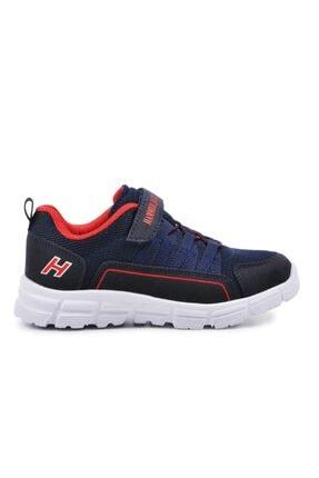 تصویر از Erkek Çocuk Lacivert Kırmızı Spor Ayakkabı