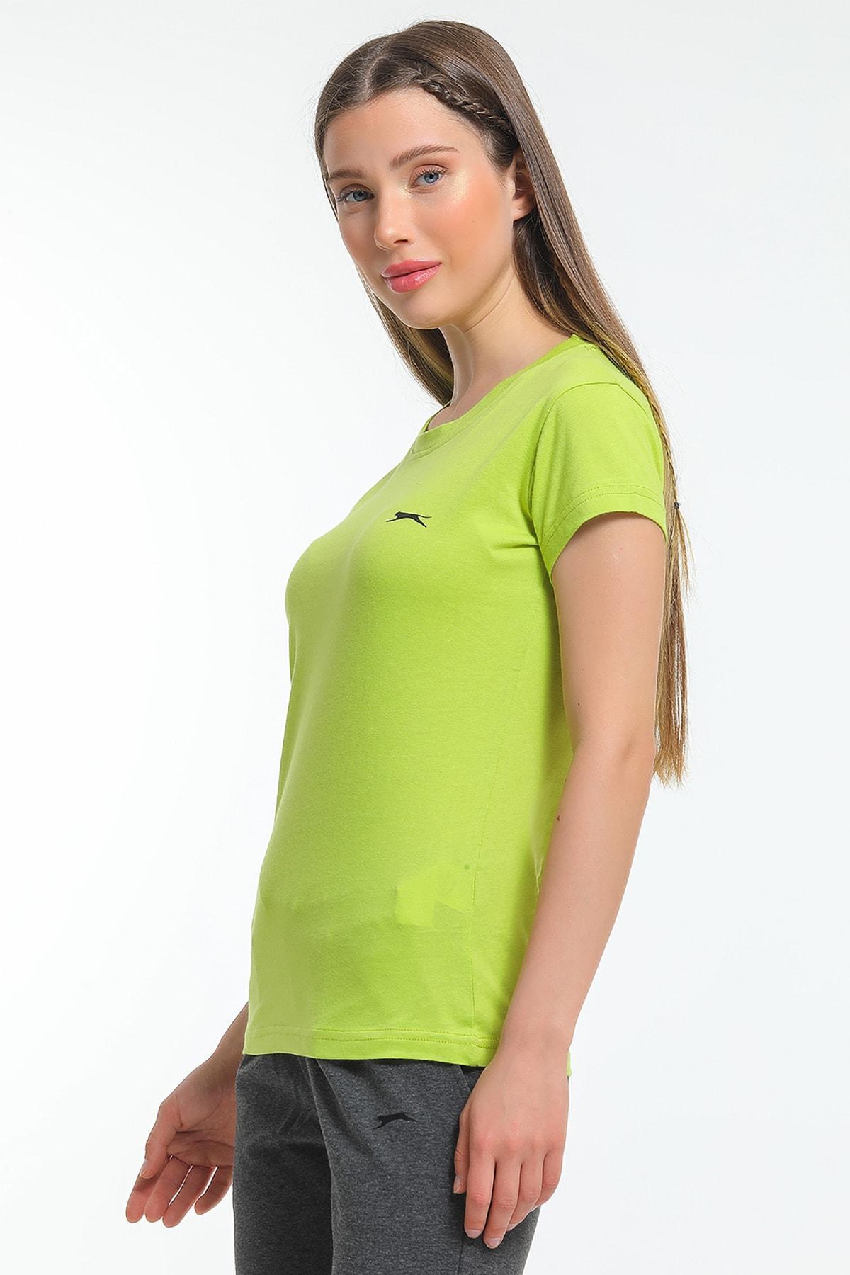 Slazenger Move Kadın T-shirt Yeşil 1