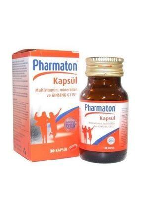 Pharmaton Vitality Multivitamin 30 Kapsül - Takviye Edici Gıda 0