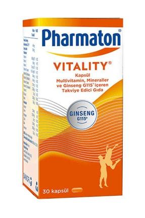 Pharmaton Vitality Multivitamin 30 Kapsül - Takviye Edici Gıda 1