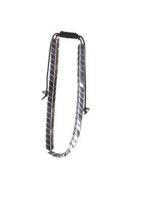 YamanUslu Aksesuar Unisex Gümüş Kaplama Gümüş Renk Çelik Bileklik 1