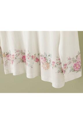 English Home Natural Flower Viskon Pijama Takımı Mint - Beyaz 2