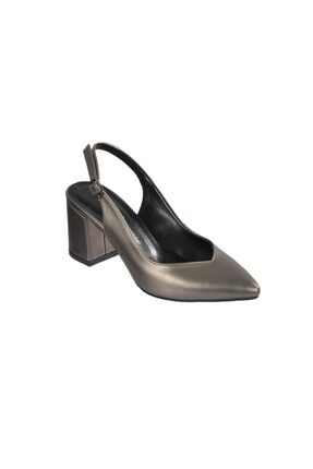 Kadın Gri Topuklu Ayakkabı HS65390