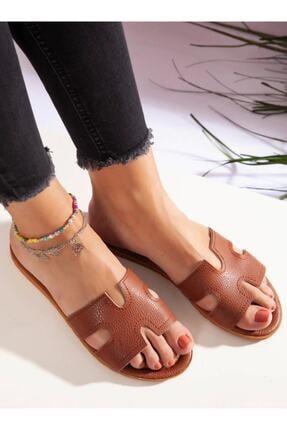 ayakkabıhavuzu Kadın Taba Terlik 0