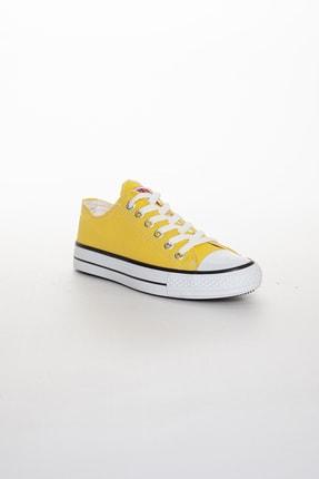 Odal Shoes Unisex Sarı Ortopedik Şeritli Sneakers Cnvrs3579746 1