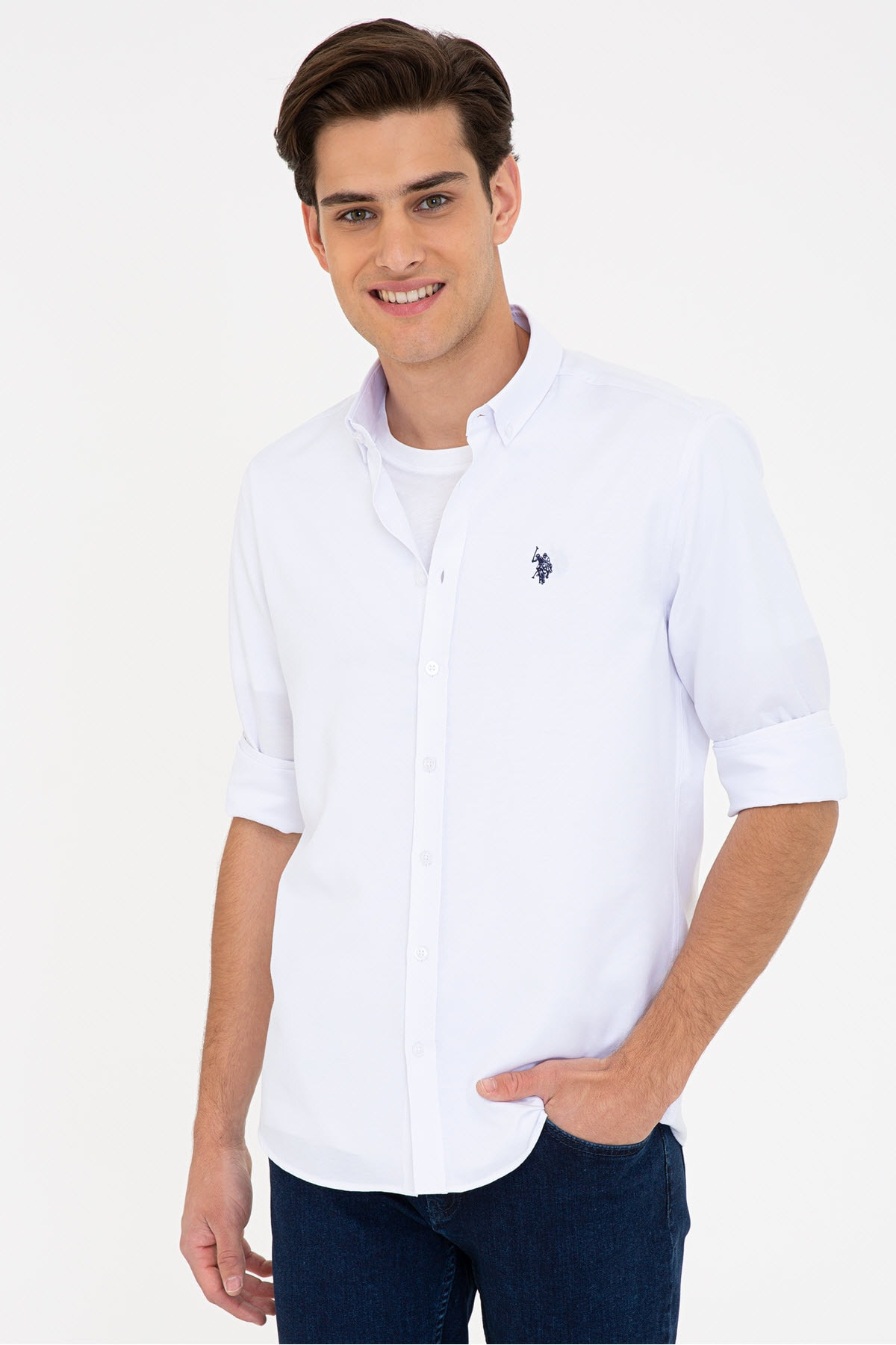 Beyaz Erkek Gömlek