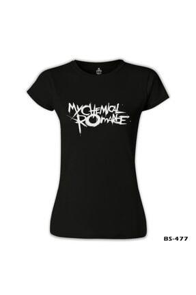 Lord T-Shirt My Chemical Romance Siyah Bayan Tshirt 1