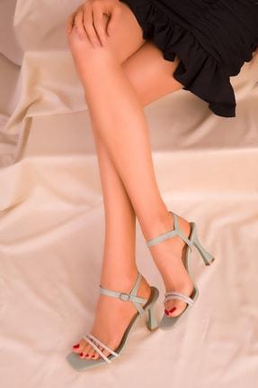 Soho Exclusive Yeşil Kadın Klasik Topuklu Ayakkabı 16000 2