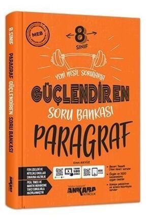 Ankara Yayıncılık Güçlendiren 8.Sınıf Paragraf Soru Bankası 0
