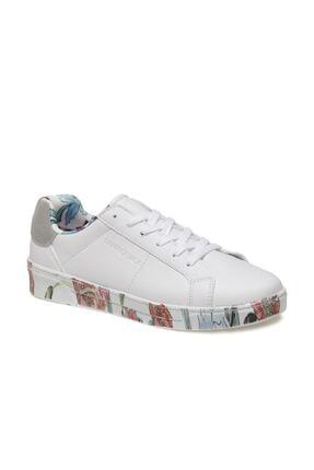 Lumberjack DELBIN 1FX Beyaz Kadın Havuz Taban Sneaker 100933280 0