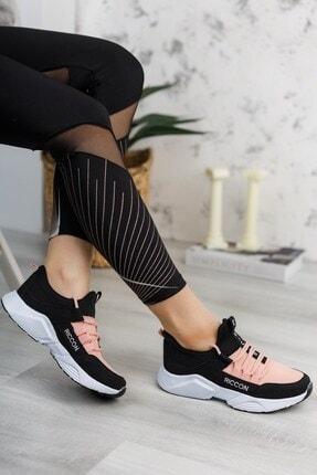 Riccon Unisex Siyah Pudra Sneaker 0012072 1