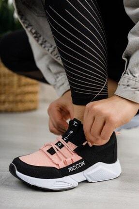 Riccon Unisex Siyah Pudra Sneaker 0012072 3