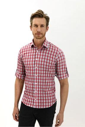 Kiğılı Uzun Kol Ekose Slim Fit Gömlek 3