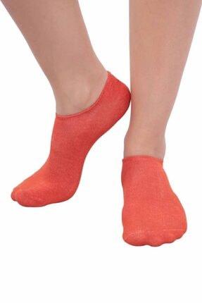 Kadın  Turuncu Patik Çorap resmi