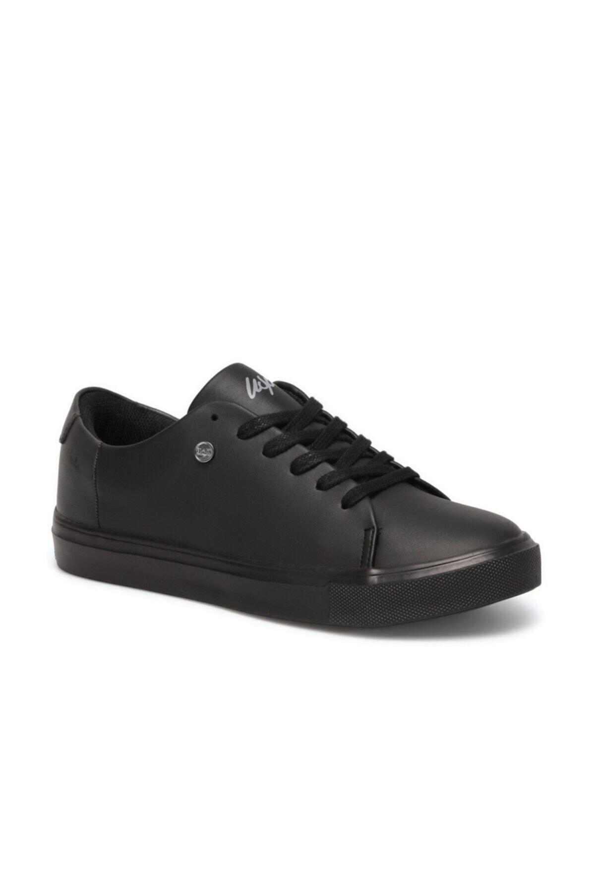 Kadın Siyah Havuz Taban Sneaker