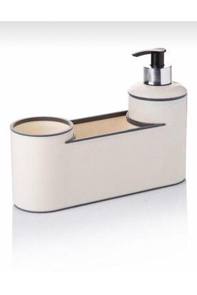 Akrilik Lüx Sıvı Sabunluk,fırçalık Ve Süngerlik Seti TYC00160327742