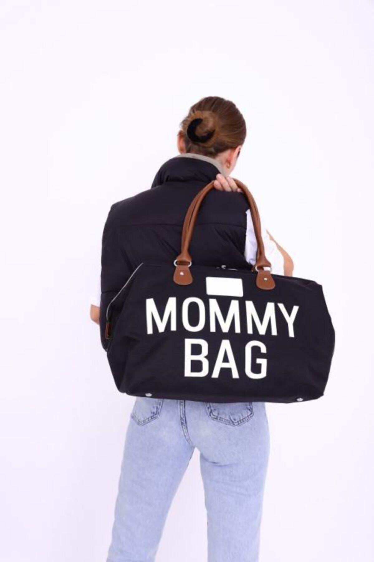 Mommy Bag Siyah Anne Bebek Bakım Çantası