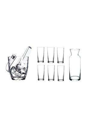 Paşabahçe Rakı Bardak Ve 9 Prç. Rakı Bardağı Ve Buz Kovası Seti 0