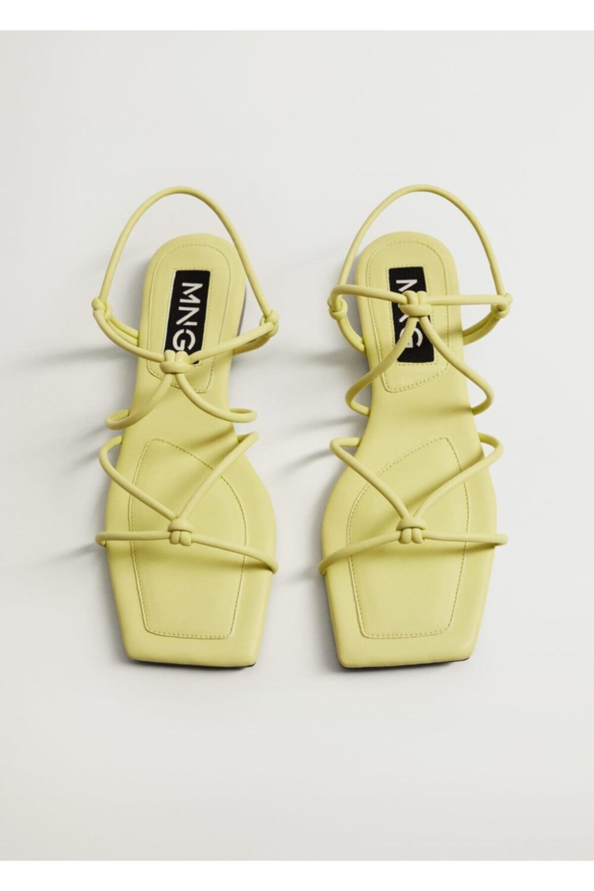 Mango Düğümlü Bantlı Sandalet