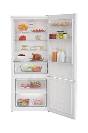 Grundig GKNE 4800 A+ Kombi No-Frost Buzdolabı 1