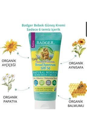 Badger Bebek Güneş Kremi Spf30 87ml 0