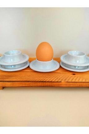 SLV 6' Lı Beyaz Kırılmaz Yumurtalık Takımı 3