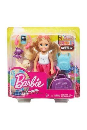 Barbie Seyahatte Chelsea ve Aksesuarları FWV20 0