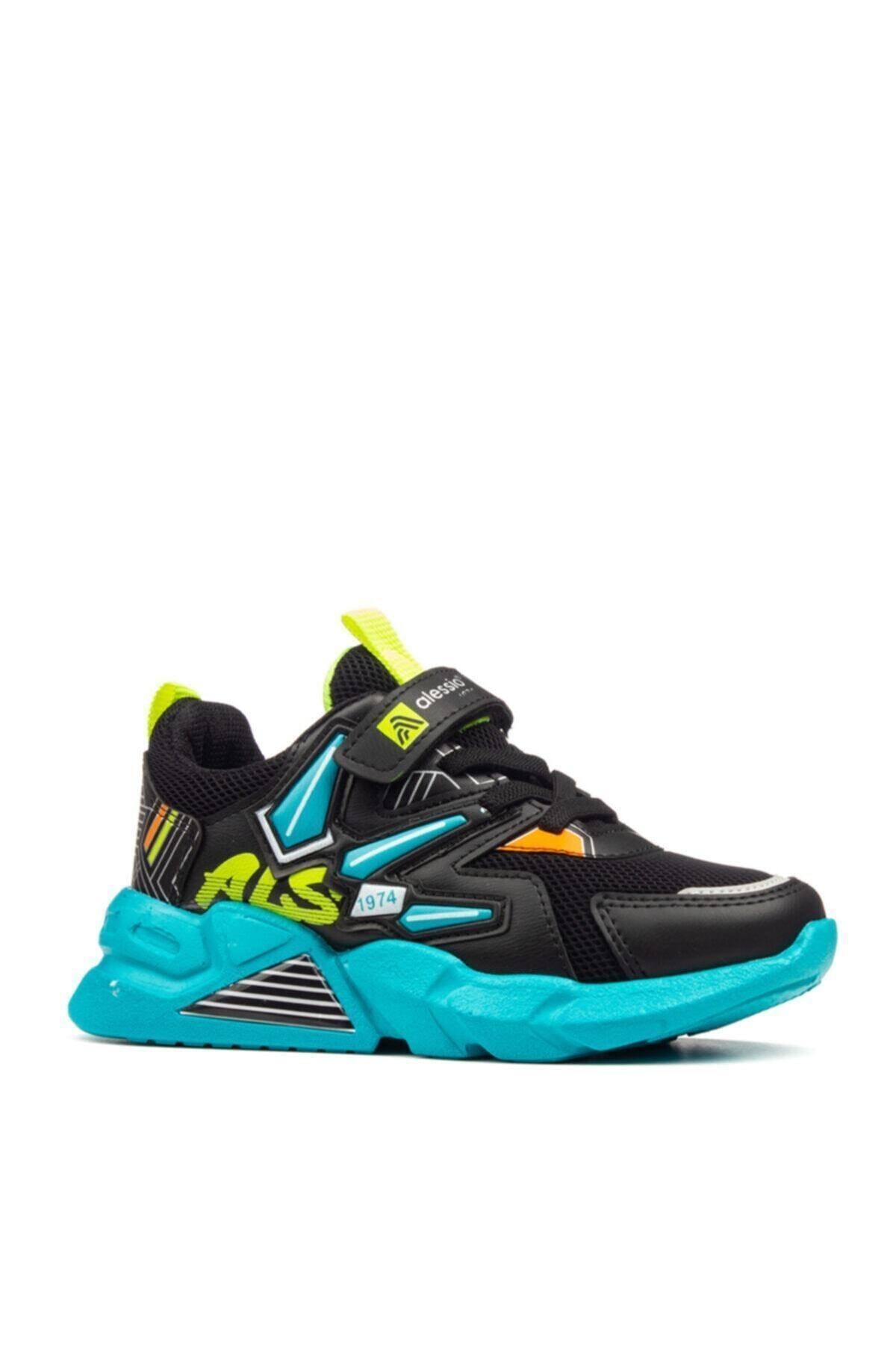 Çocuk Siyah Günlük Sneaker