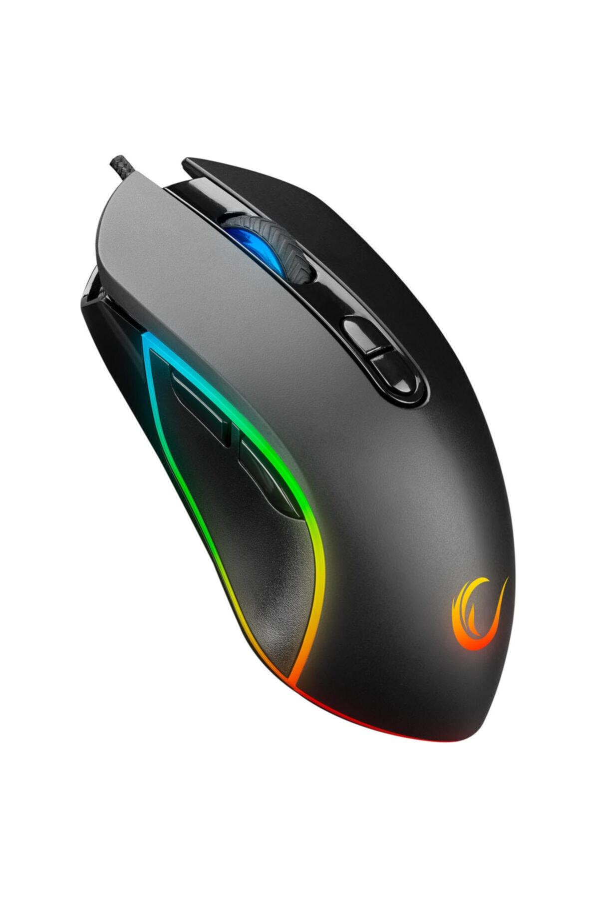 Smx-g65 Alpor Makro Tuşlu 7200dpi Rgb Ledli Drag Click Gaming Oyuncu Mouse