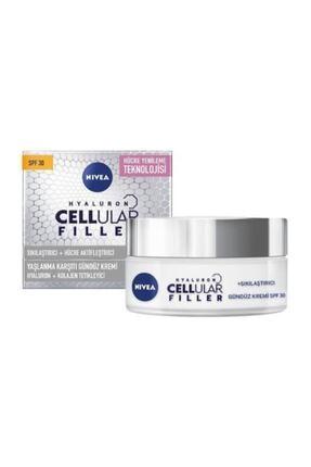 Nivea Hyaluron Cellular Fıller + Sıkılaştırıcı Yaşlanma Karşıtı Gündüz Kremi Spf 30 50 Ml 0