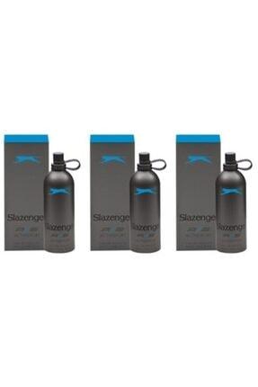 Slazenger Active Sport Mavi Edt 125 Ml Erkek X 3 Adet 0