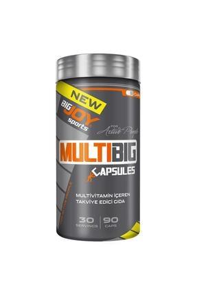 Big Joy Sports Multibig Multivitamin Vitamin Enerji Takviye Edici Gıda 90 Kapsül 0
