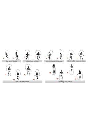 VENGI Ayarlanabilir Pvc Sporcu Atlama İpi 3
