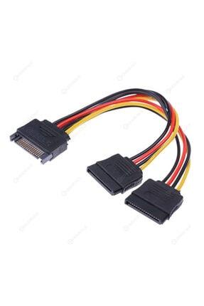 OEM Sata Power Çoklayıcı Y Kablo Ekran Kartı Güç Kablosu Bakır Kablo - Sata To 2 X Sata Power Çoklayıcı 0