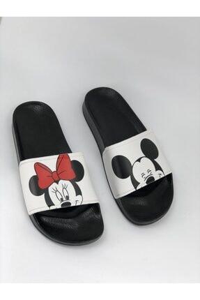 AKBAŞ Mickey Ve Mouse Baskılı Kadın-kız Terliği 3