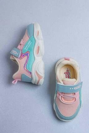 Jump Çocuk Spor Ayakkabı 25833 G Lt.pınk/mınt 4