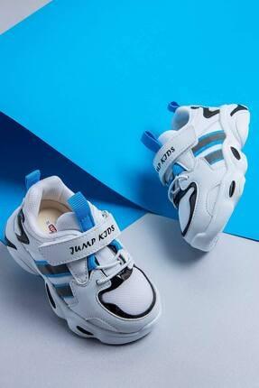 Jump Çocuk Spor Ayakkabı 26056 B Whıte/blue/black 3