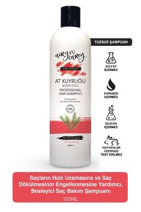 Airy n Carey Tuzsuz Şampuan, Dökülme Karşıtı, Hızlı Saç Uzatan Sülfatsız At Kuyruğu Şampuanı 330ml 86829837004anc 0