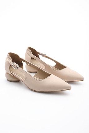 Marjin Kadın Günlük Klasik Topuklu Ayakkabı Evolibej 2