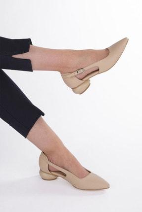 Marjin Kadın Günlük Klasik Topuklu Ayakkabı Evolibej 3