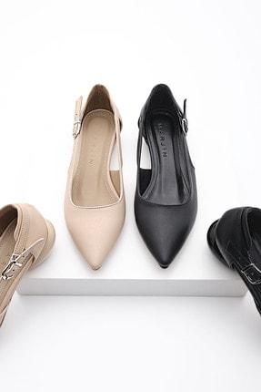 Marjin Kadın Günlük Klasik Topuklu Ayakkabı Evolibej 4