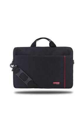 """Picture of Bnd700 Workstation 15.6"""" Su Geçirmez Kumaş Macbook, Mac Air ,notebook, Laptop Çantası Siyah-kırmızı"""